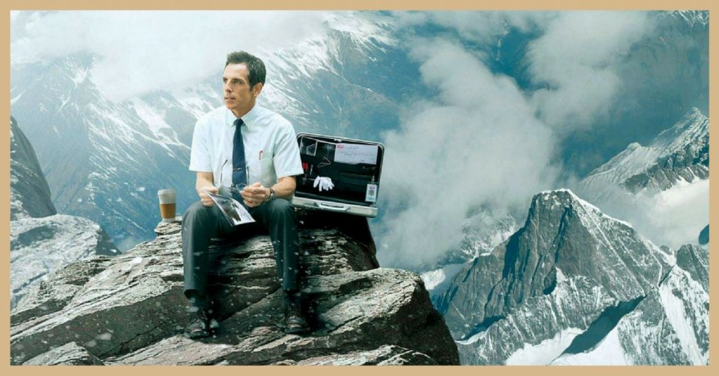the secret life of Walter Mitty films