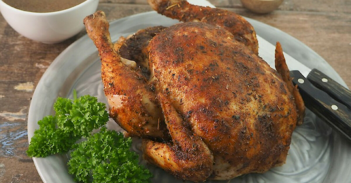 slow cooked baked chicken