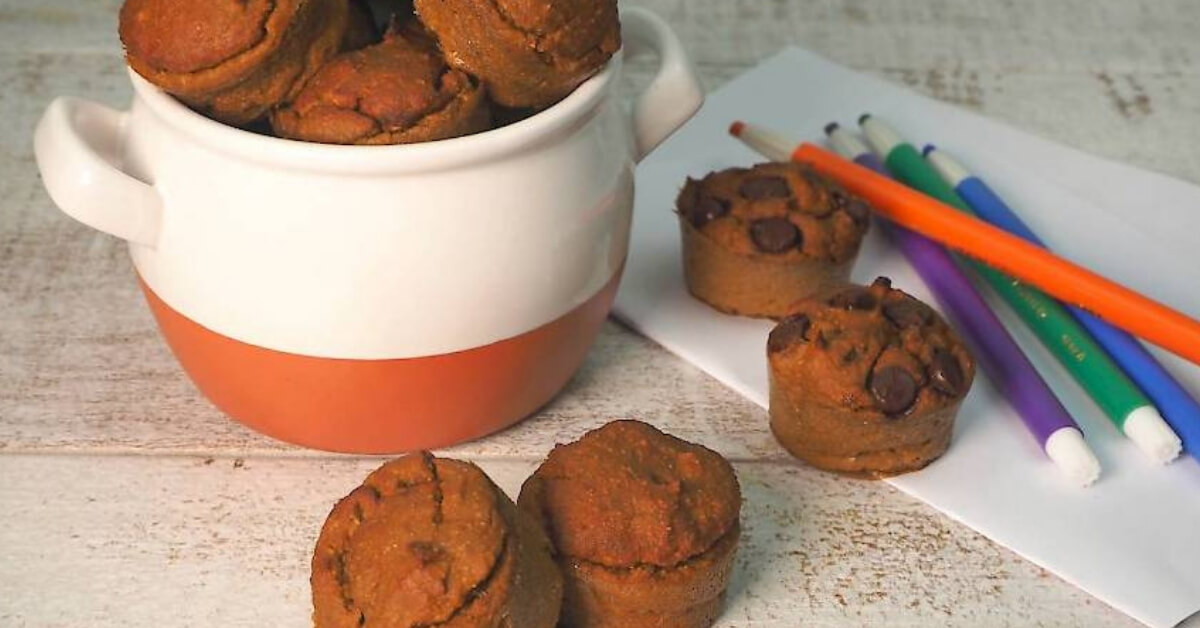 sweet potato banana muffin