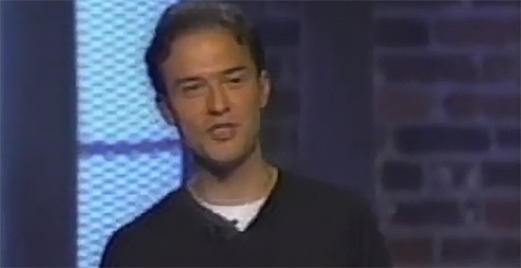 A young Joshua Harris when he was a sought-after voice on relationships in the late 1990s.