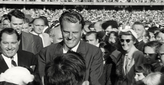 Billy Graham in Melbourne in 1959