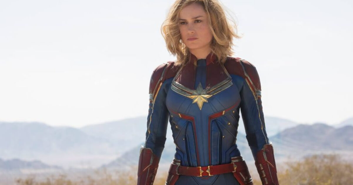 Brie Larson who plays the lead character in Captain Marvel