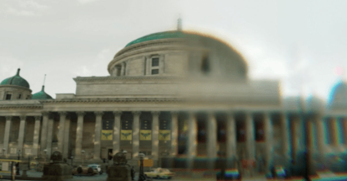 St Georges Hall city and the city