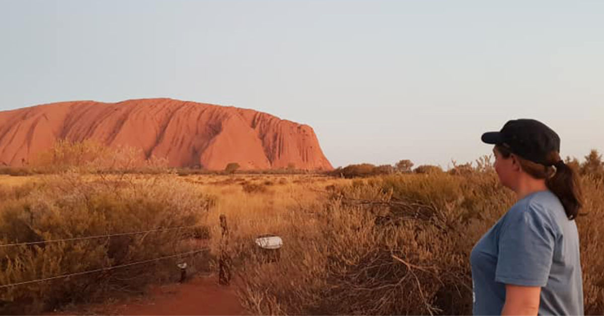 Brooke Prentis at Uluru