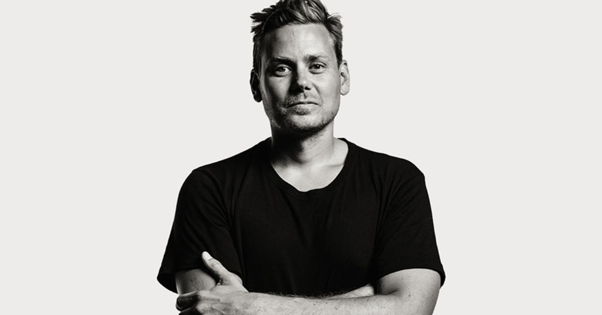 a black and white photo of john mark comer