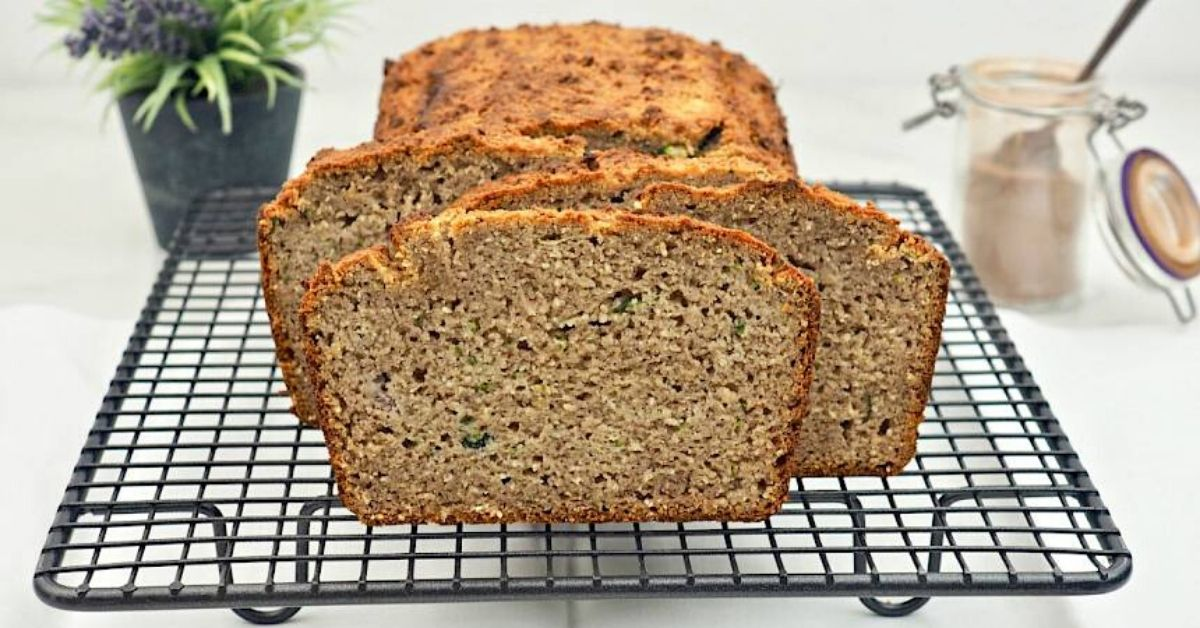 a photo of susan joy's banana and zucchini bread
