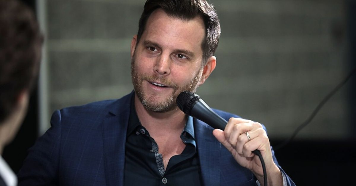 photo of dave rubin in an interview