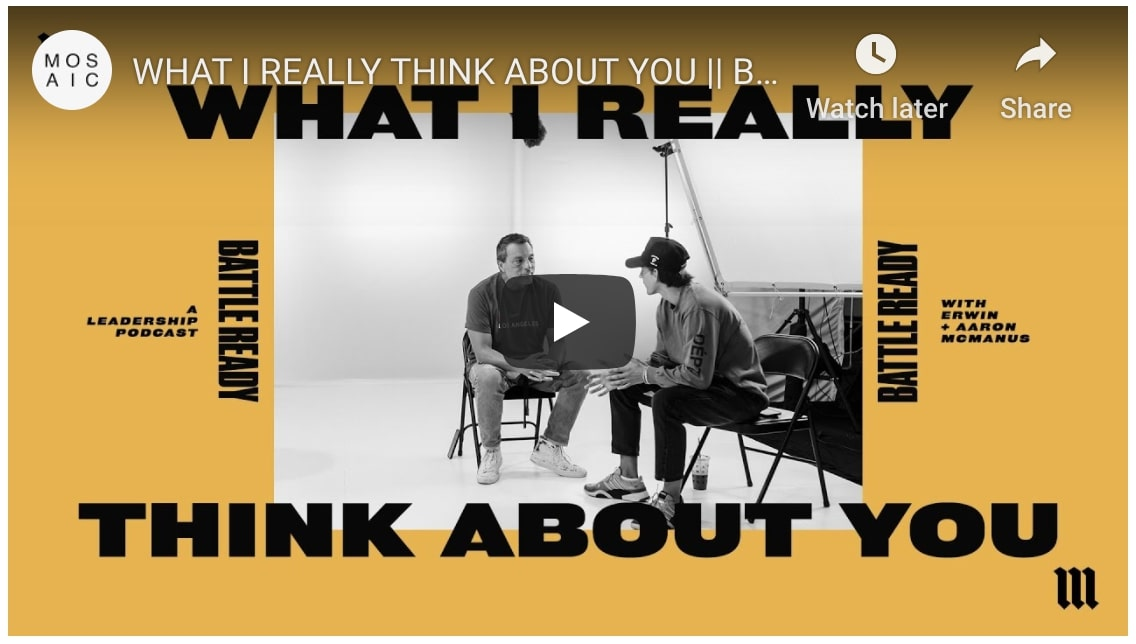a youtube preview of battle ready season 3 episode 3 called what i really think about you