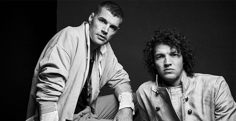 Joel and Luke Smallbone of for KING & COUNTRY.