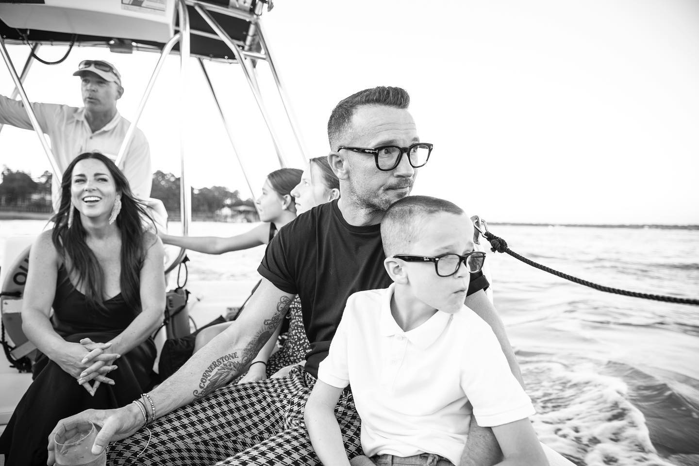 Carl Lentz with family
