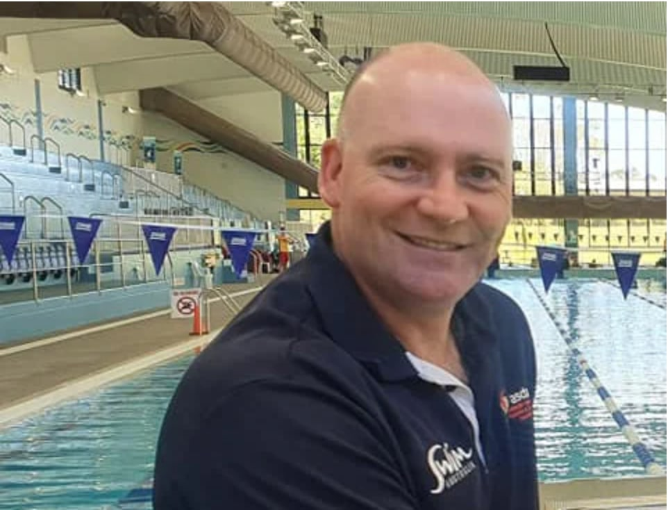 swim australia ceo brendon ward