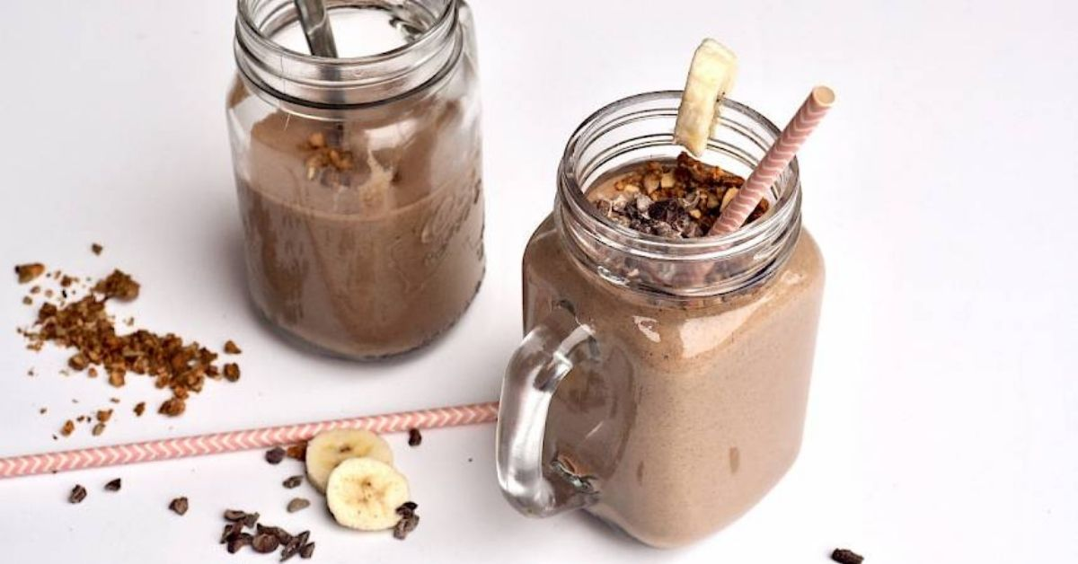 susan joy's chocolate banana smoothie