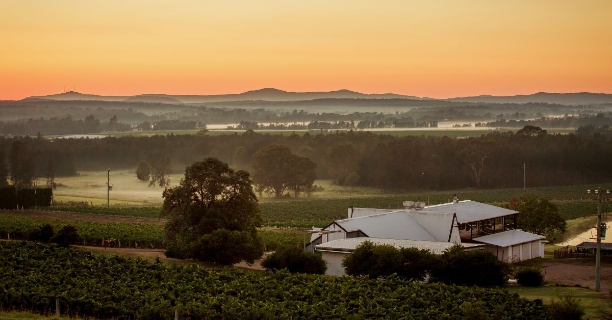 a house in the hunter valley