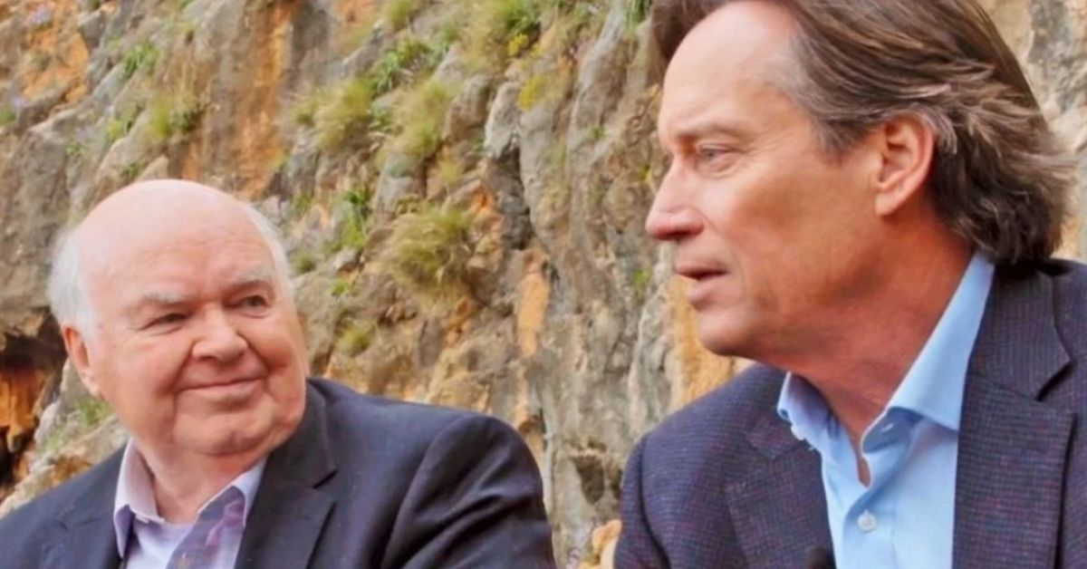 john lennox and kevin sorbo talking in against the tide
